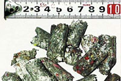 廃プラスチックから作られる固形燃料RPF